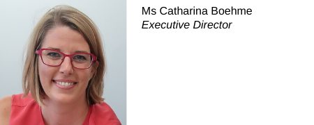 Catharina Boehme, Directrice exécutive