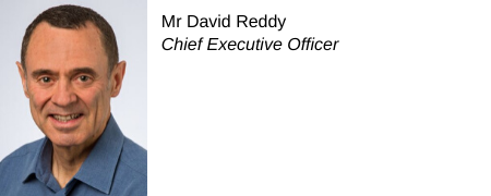 David Reddy, Chief Executive Officer