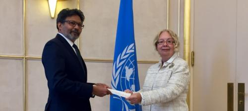 New Permanent Representative of Maldives