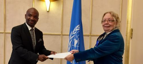 New Permanent Observer of the Organisation of Eastern Caribbean States