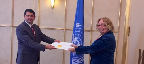 New Permanent Representative of Cuba
