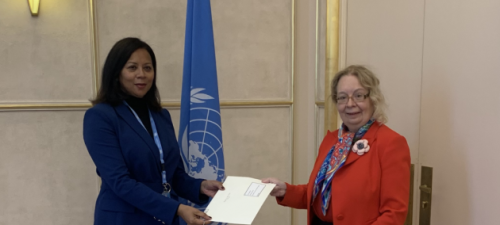 New Permanent Representative of Cabo Verde