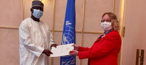 New Permanent Representative of the Gambia
